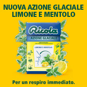 ricola limone e mentolo